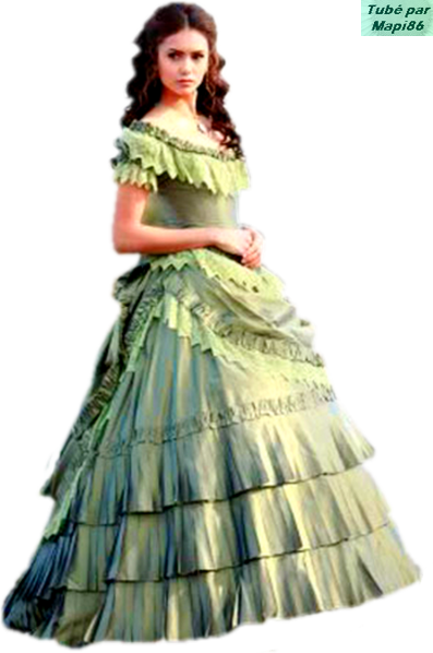 Tube Longue Verte Robe 1800 Femme Style e9Y2HEDIW