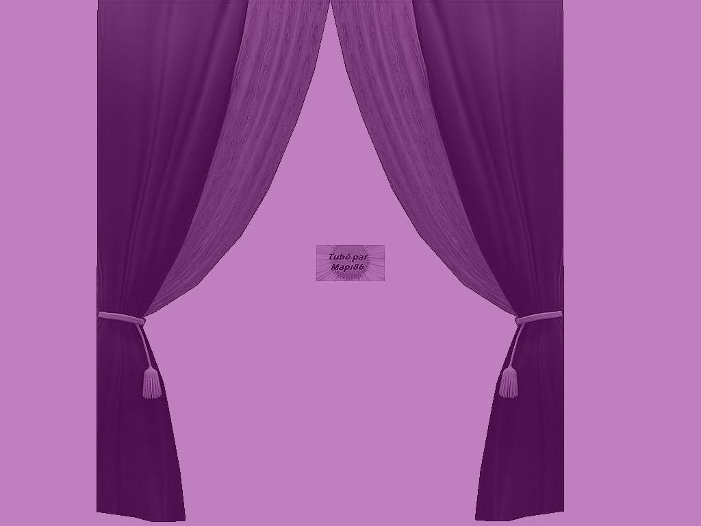 rideau violet mauve. Black Bedroom Furniture Sets. Home Design Ideas
