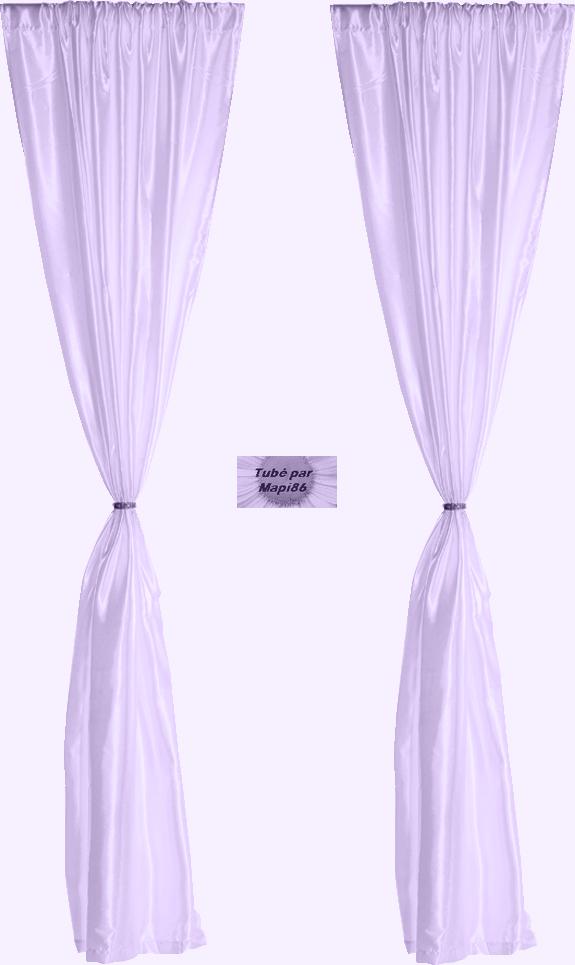 tube rideau mauve violet. Black Bedroom Furniture Sets. Home Design Ideas