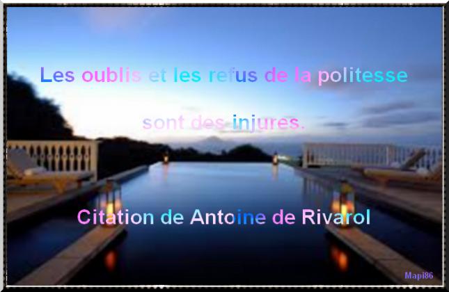 Citation Sur La Politesse