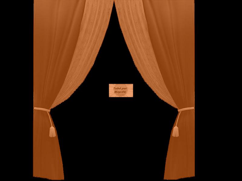 Tube Rideau Marron